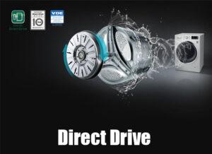 LG washing machine direct drive