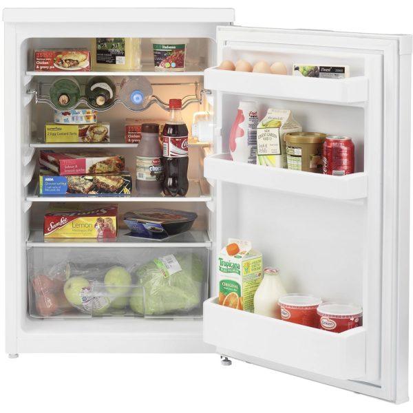 Beko Under Counter Larder fridge with the door open