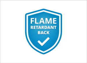 Flame retardent back