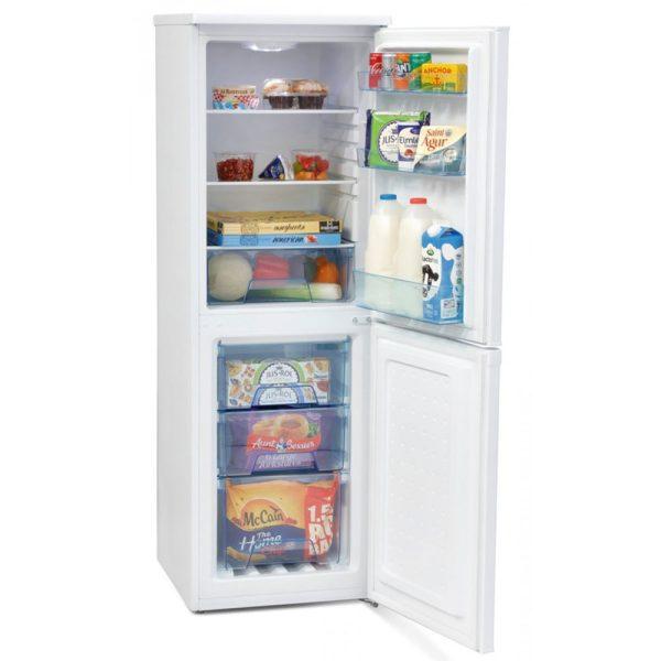 Iceking Fridge Freezer with the door open