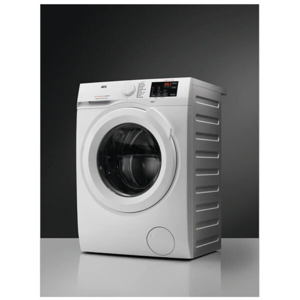 AEG Washing Machine with background