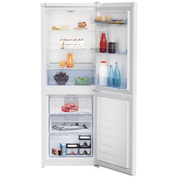 Beko Fridge Freezer with the doors open