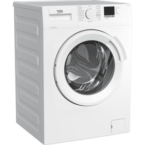 Beko Freestanding Washing Machine on an angle