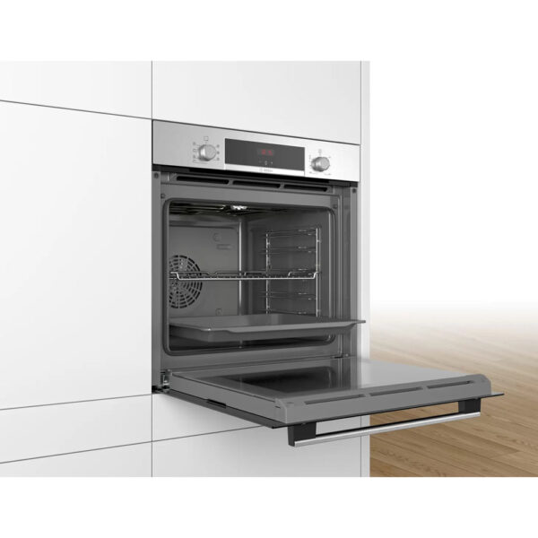 Bosch Single Oven with the door open