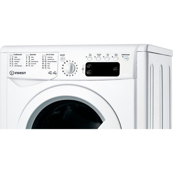 Indesit Washer Dryer zoomed view