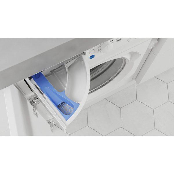 Indesit Integrated Washing Machine soap drawer
