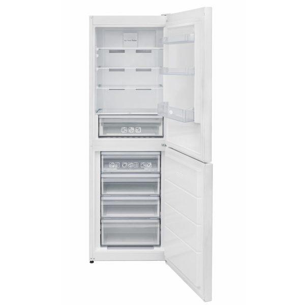 Hoove Fridge Freezer with the doors open