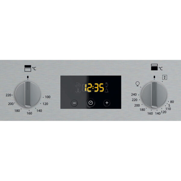Hotpoint Built-Under Double Oven clock