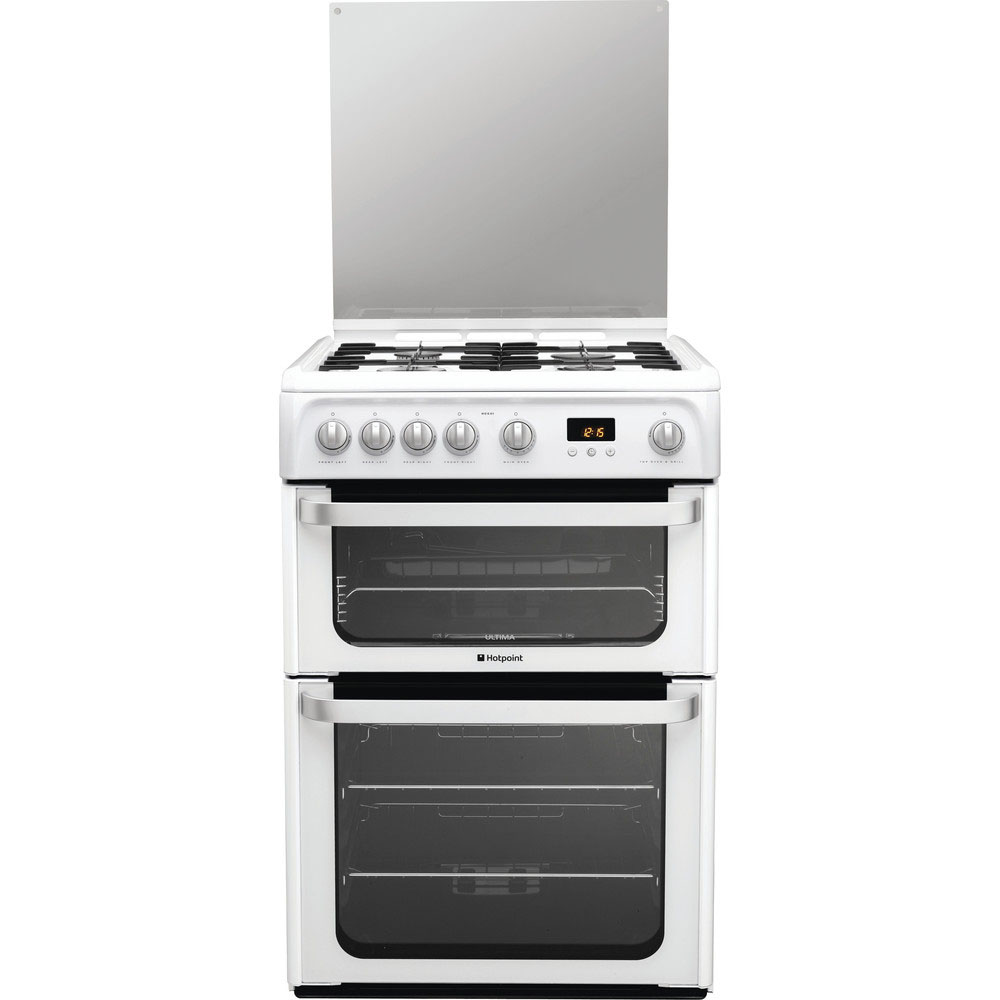 Hotpoint Gas Cooker With Double Oven