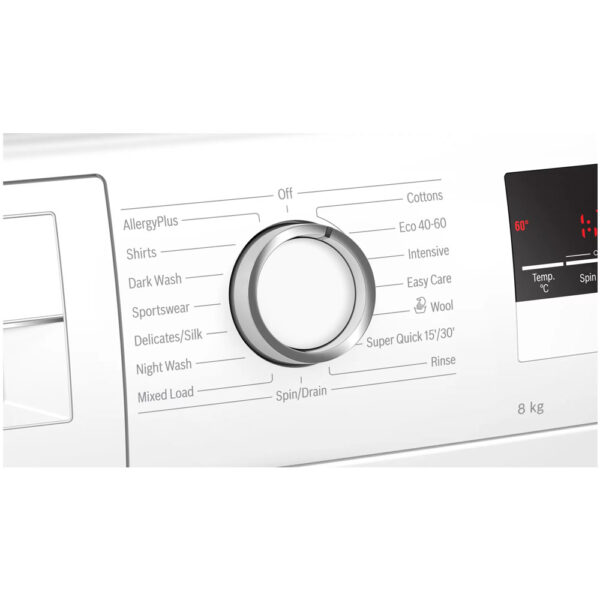 Bosch Washing Machine cycles