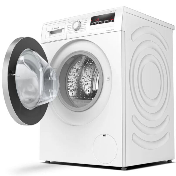 Bosch Washing Machine with the door open