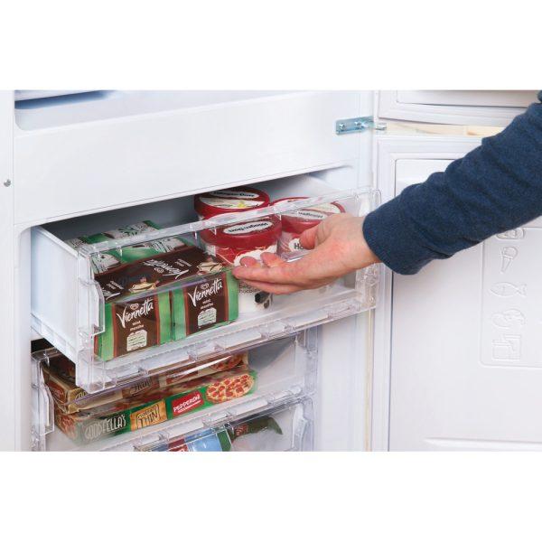 Indesit Fridge Freezer top freezer drawer