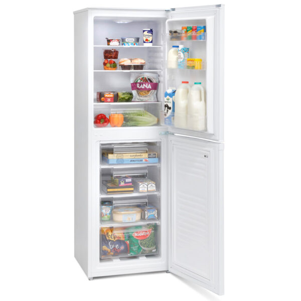Montpellier Fridge Freezer with the doors open