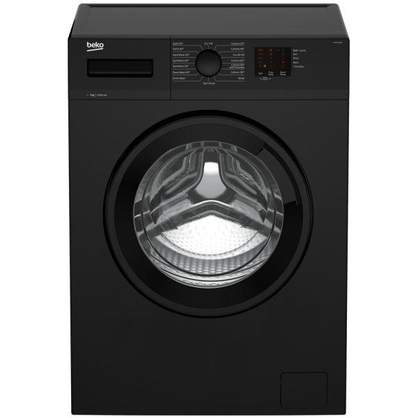 Beko Washing Machine in black