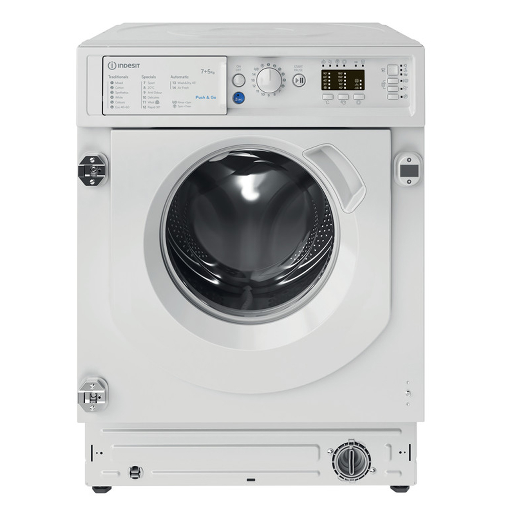 Indesit Integrated Washer/Dryer 7kg/1200rpm