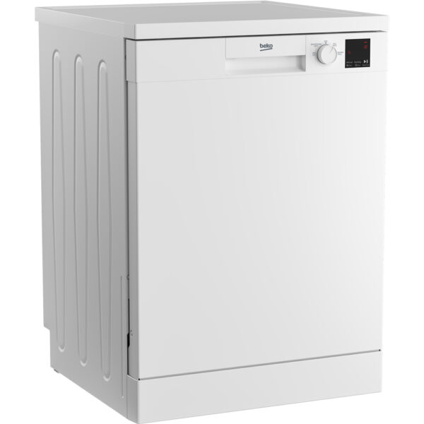 Beko Freestanding Dishwasher angled view