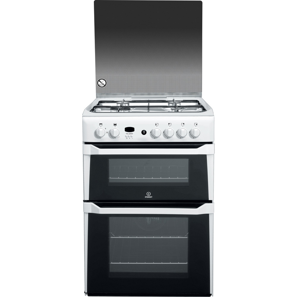 Indesit Gas Cooker With Double Oven