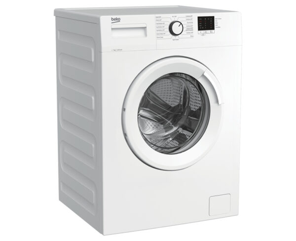 Beko Washing Machine on an angle