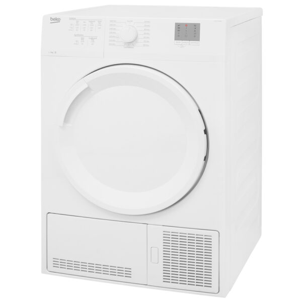 Beko Condenser Dryer on an angle