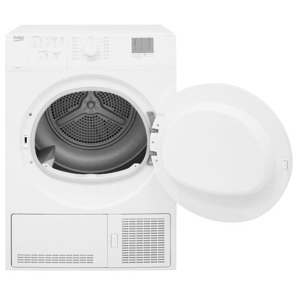 Beko Condenser Dryer with the door open