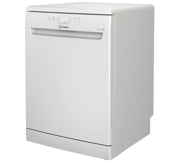 Indesit Freestanding Dishwasher on an angle