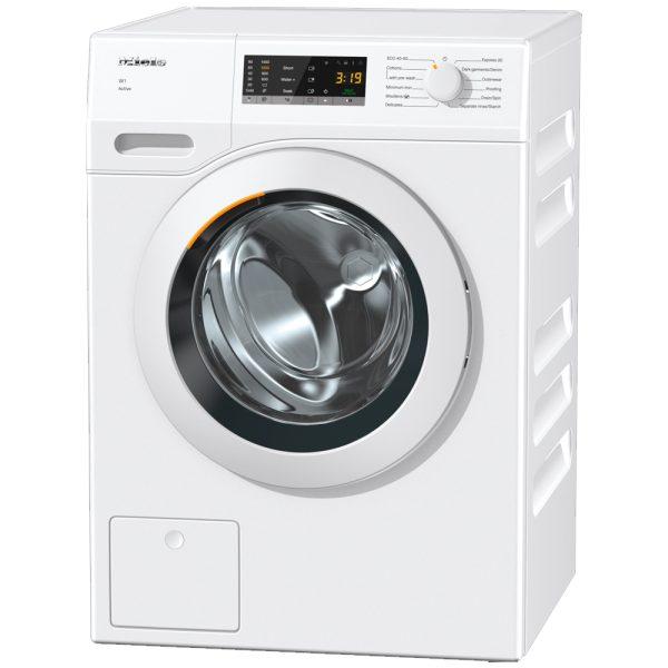Miele Washing Machine on an angle