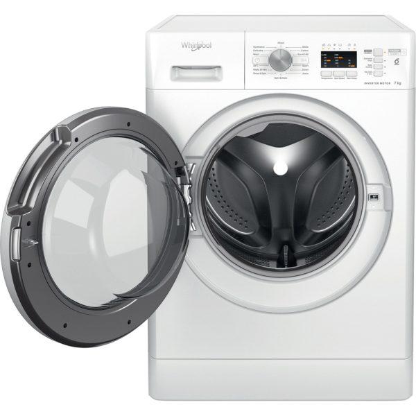Whirlpool Washing Machine with the door open