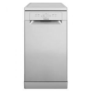 Hotpoint Slimline Dishwasher - silver