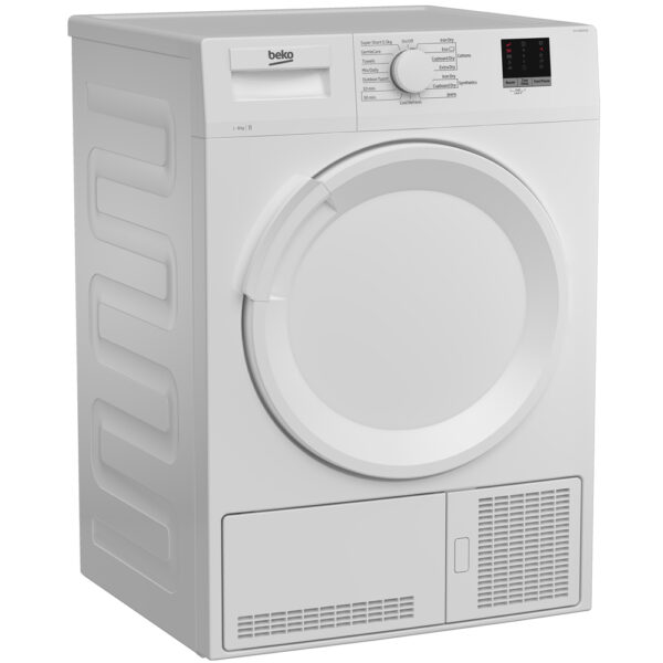 Beko Condenser Dryer - on an angle