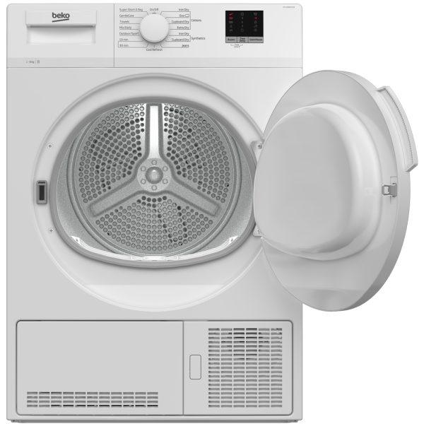 Beko Condenser Dryer - with the door open
