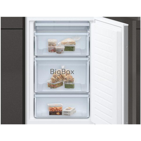 Neff Integrated Fridge Freezer - Freezer compartment