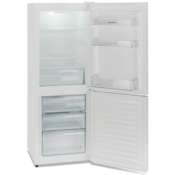 Montpellier Fridge Freezer with the door open