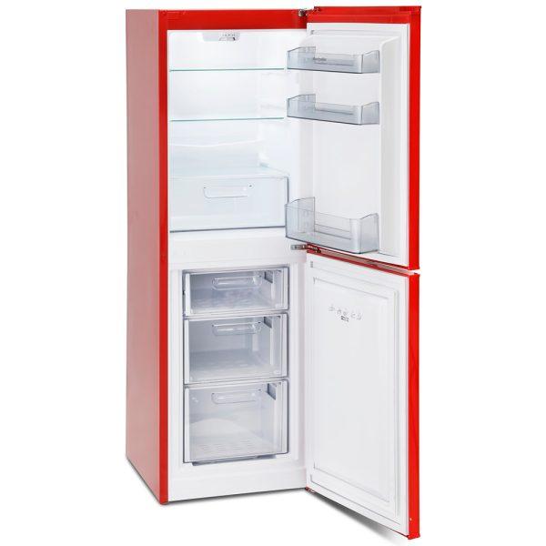 Montpellier Retro Fridge Freezer - with the doors open
