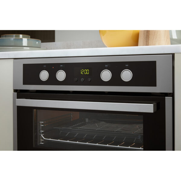 Whirlpool Double Oven - facia panel with the controls popped in