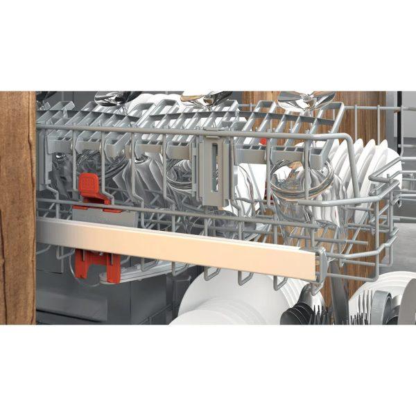 Hotpoint Integrated Dishwasher - basket height adjustment